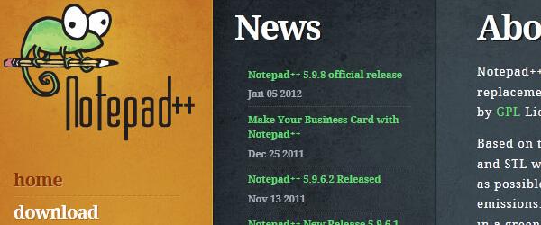 Notepad++ CSS editor