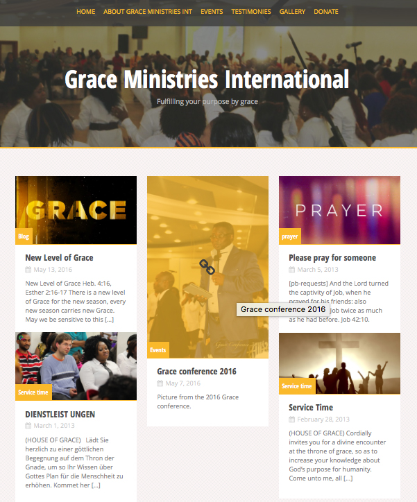 Grace Ministries Int