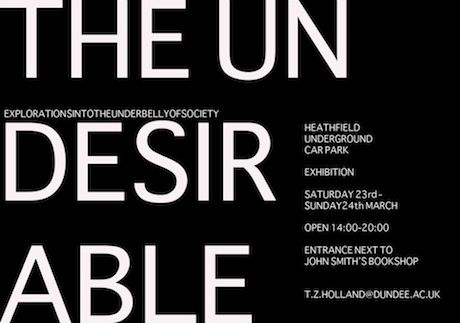 THE UNDESIRABLE PUBLIC POSTER