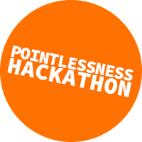 Pointlessness Hackathon Logo