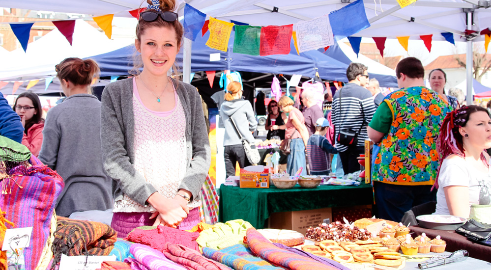The Teenage Market gives young people who are already trading online, a chance to trade at their local market.