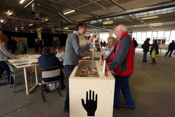 Hands of X Workshop. Image: Dylan Drummond