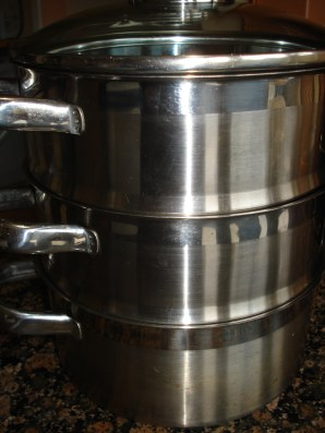 picture of stacking steamer