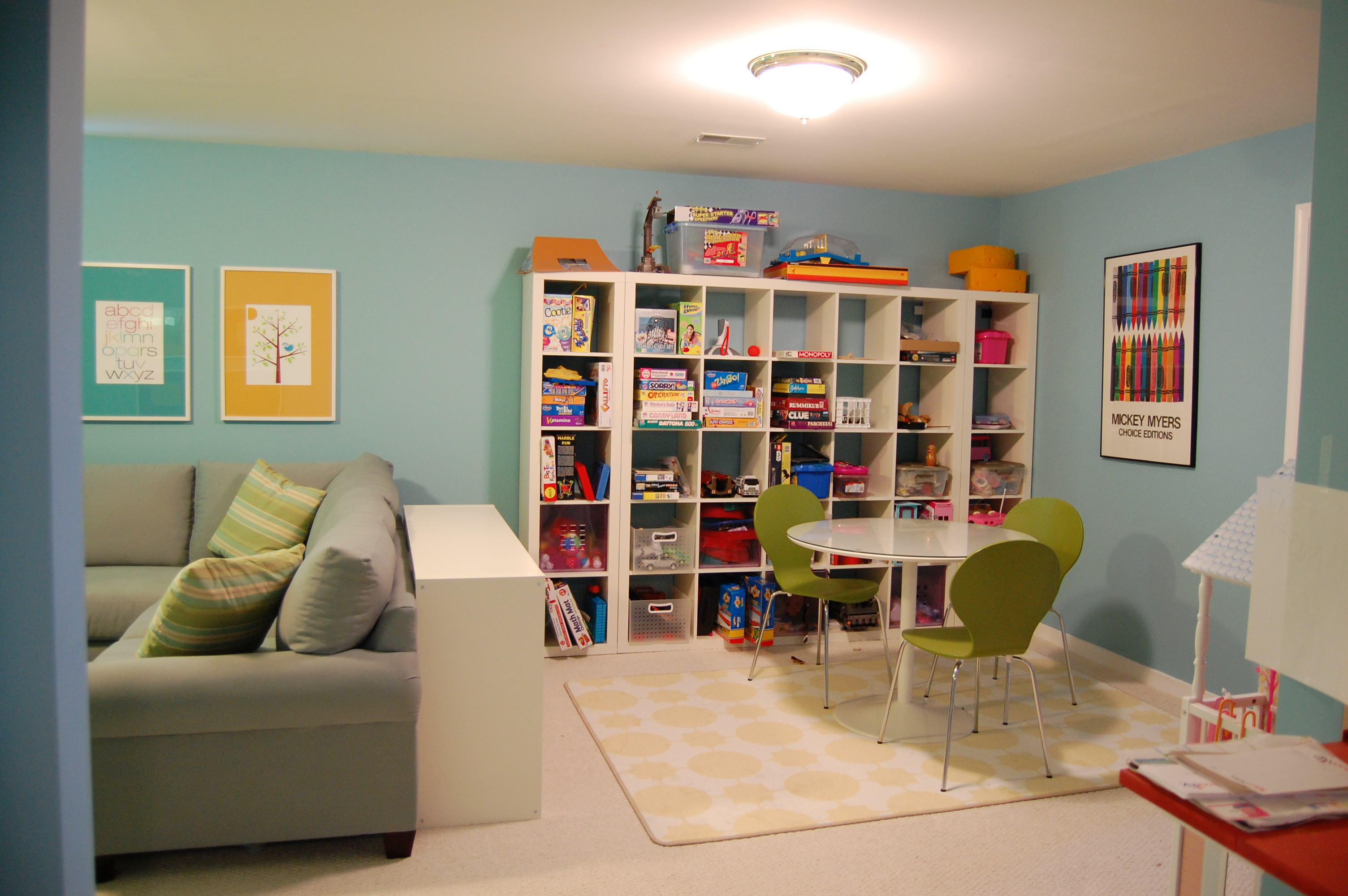 Ideas For A Playroom A Decorators Journey