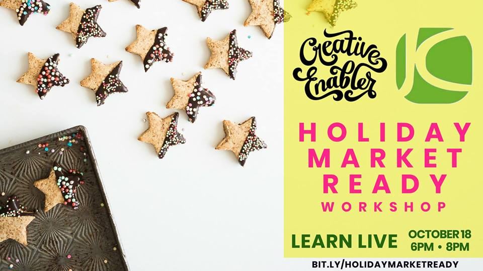 Holiday Market Ready Workshop with Creative Enabler