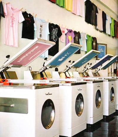Fresh Pressed screen print shop | Los Feliz, CA