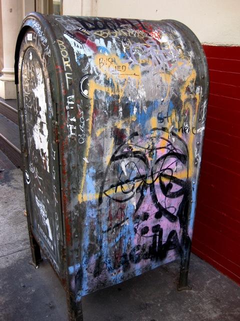 Soho post box