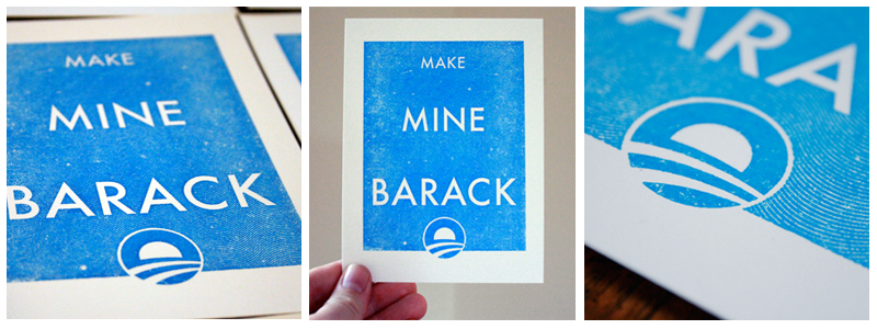 Make Mine Barack by Sidedown