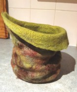 green brown vessel right