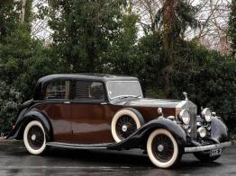 1938-Rolls Royce 25/30 Sport Saloon