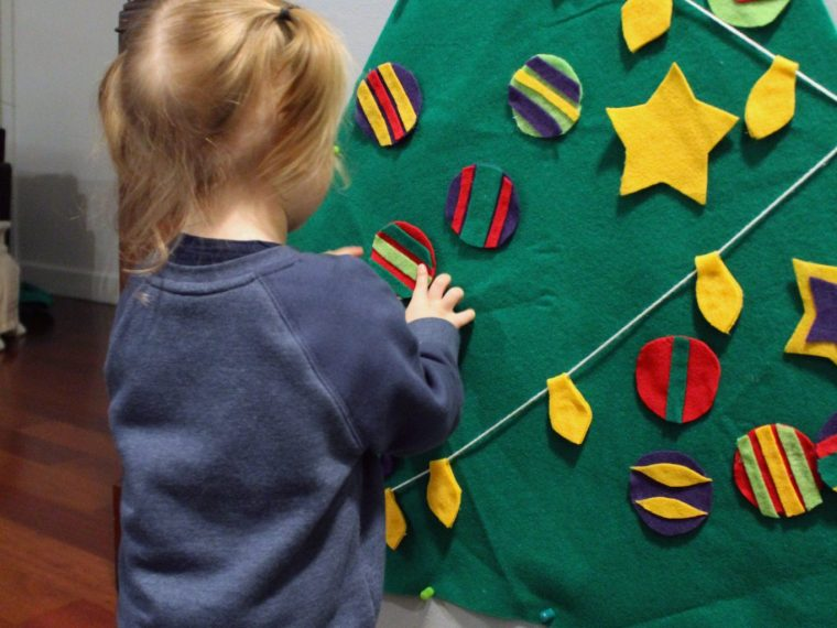 Make This Toddler Felt Christmas Tree FULL TUTORIAL