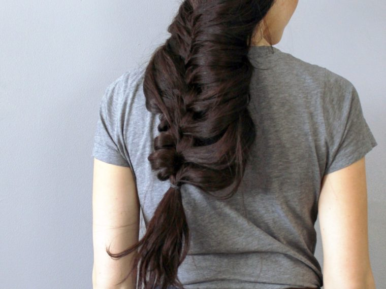 DIY Mermaid Braid