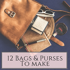 12 bag and purse tutorials