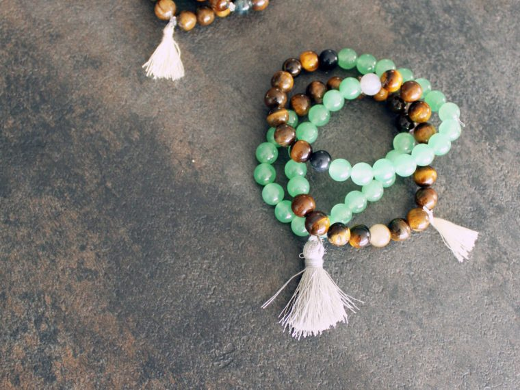DIY Stone Stacking Bracelets . Crystals for jewelry making