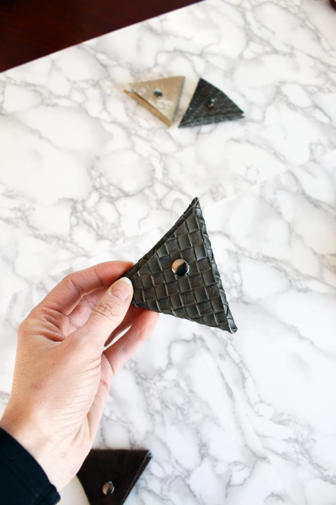 How To Make A Small Triangle Coin Pouch FREE Printable Included