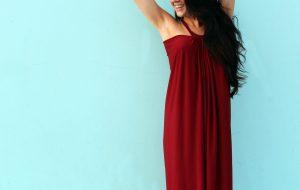 DIY Tent Dress Floor Length Maxi Dress