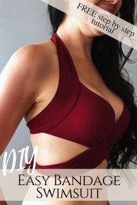 How to make a sexy wrap swimsuit bikini top