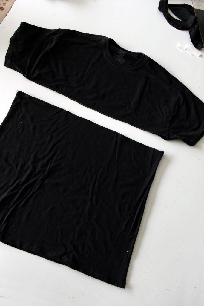 Refashion two Tshirts into this sexy summer dress