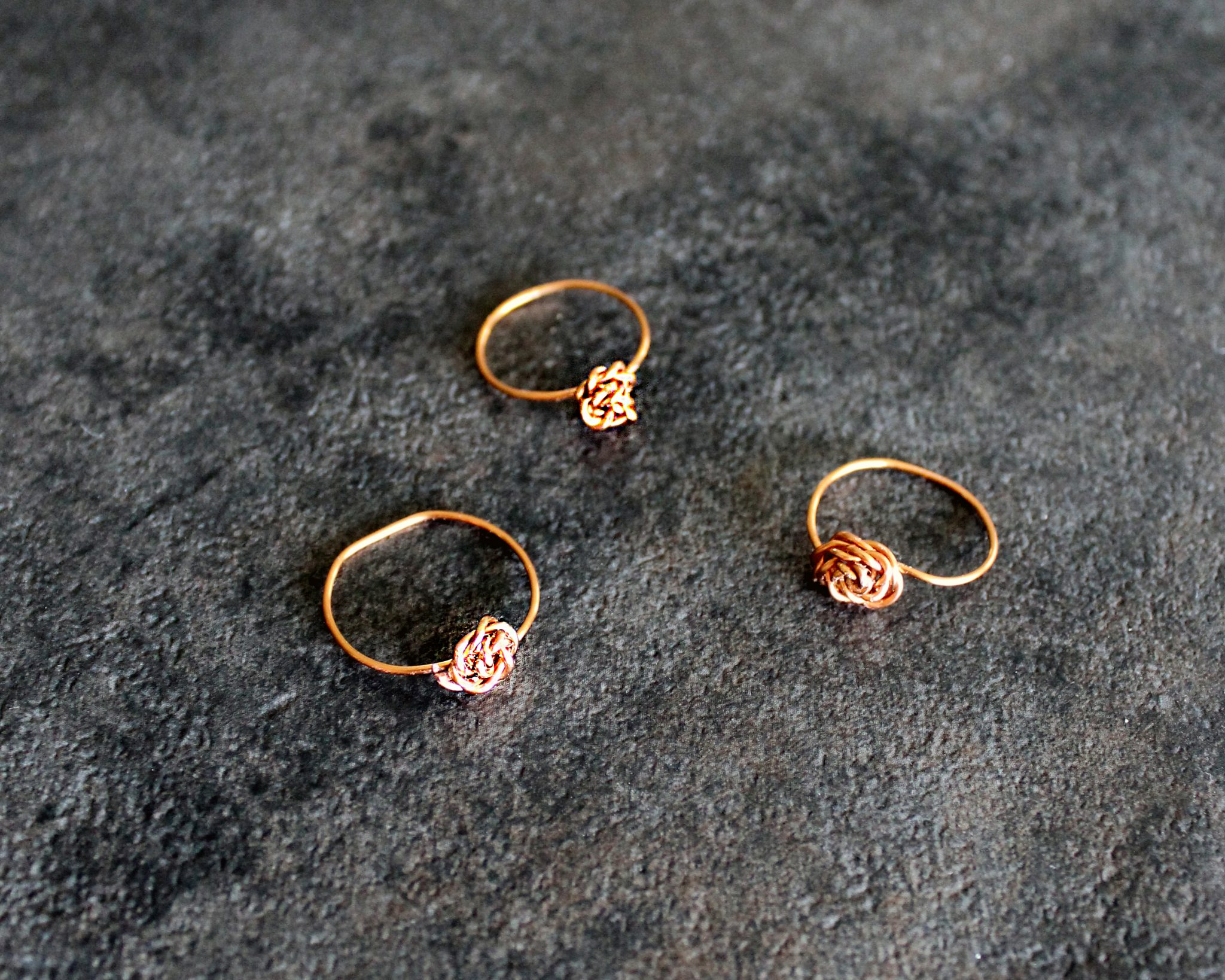 Simple Wrapped Stacking Ring