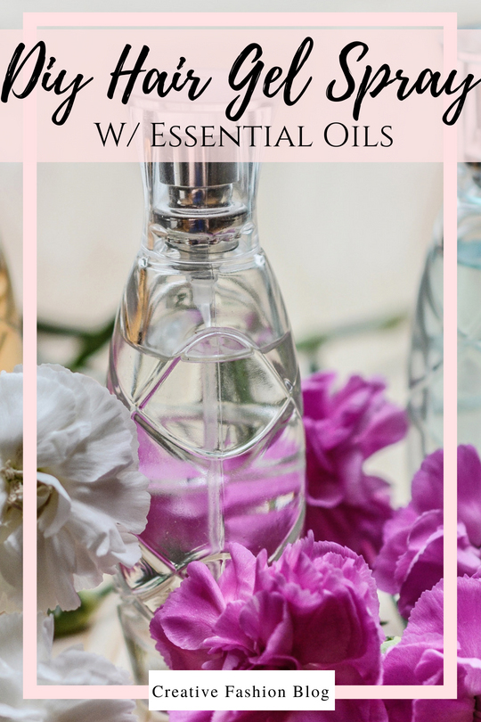 How to make DIY hair gel recipes with essential oils .