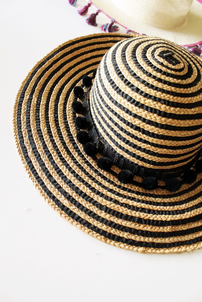 How to make a fun DIY summer hat for women . no sew!