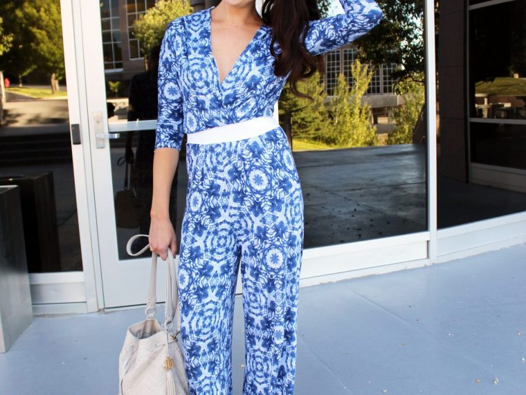 How to make a knit 70s jumpsuit with palazzo pants