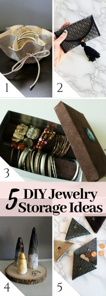 5 Super Easy DIY Jewelry Storage Ideas