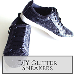 DIY Glitter Sneakers small