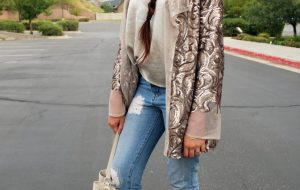 How to make a DIY Sequin Jacket Cardigan full tutorial