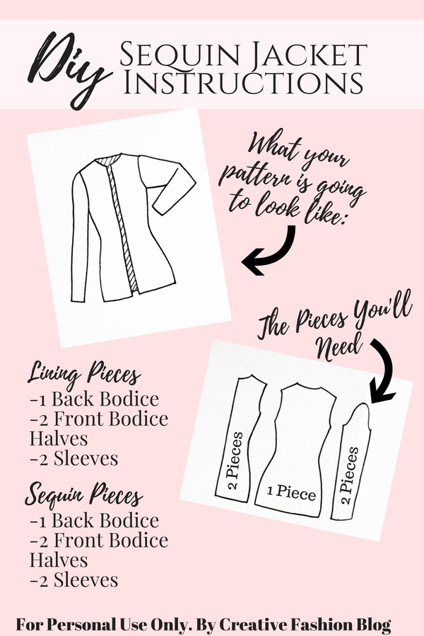 How To Make A DIY Sequin Jacket Cardiga