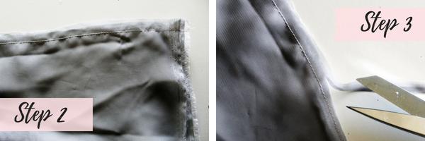 How to make a chiffon babydoll tshirt dress refashion