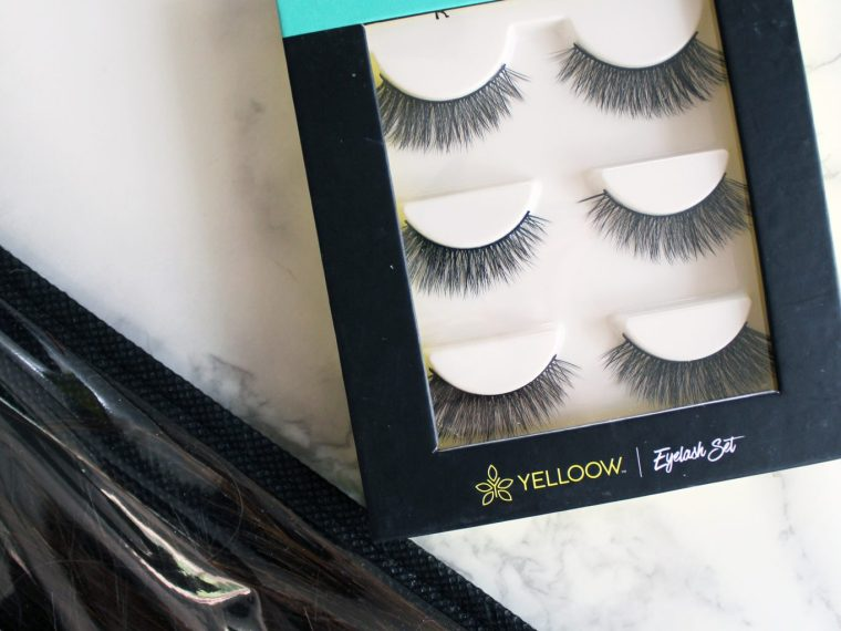 eyelash set by Yelloow The best eyelashes and exactly how to put them on