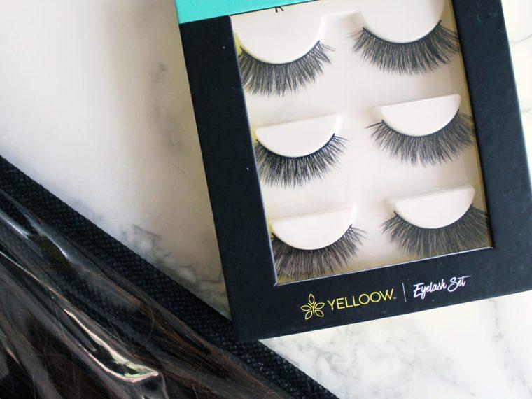 eyelash set by Yelloow The best eyelashes and exactly how to put them on