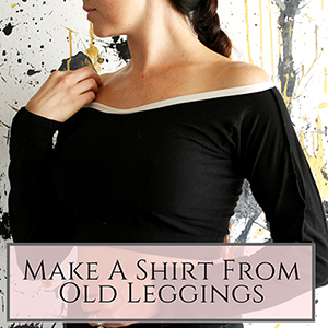 leggings into shirt