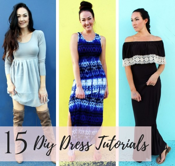 15 Diy dresses to sew yourself.