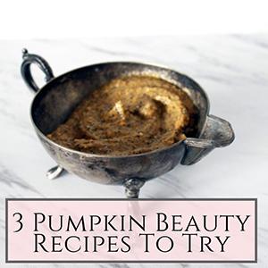 3 pumpkin recipes