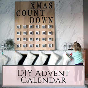 DIY Massive Advent calendar