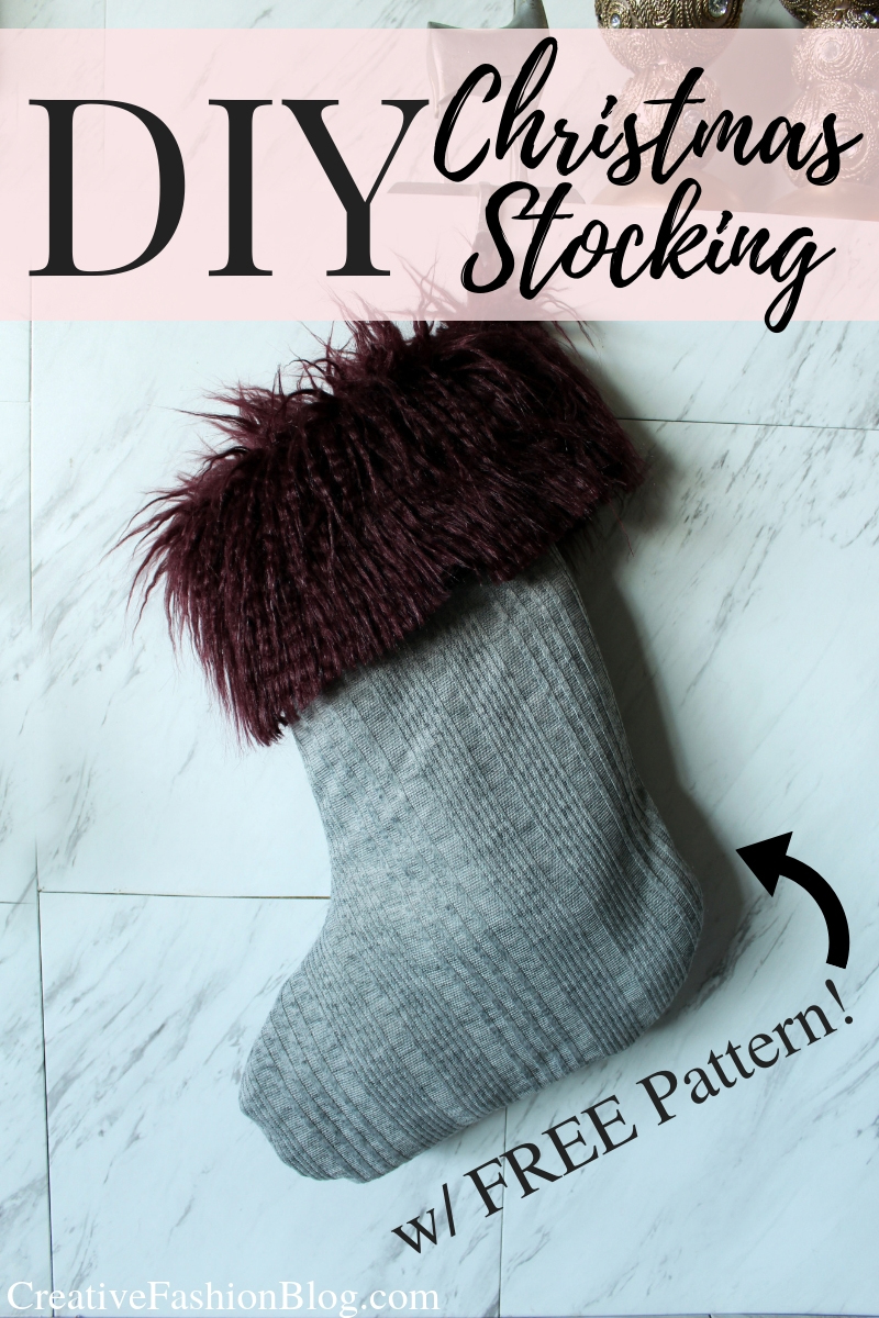 photo relating to Free Printable Christmas Stocking Pattern referred to as Totally free Do-it-yourself Xmas Stocking Routine - Artistic Design and style Web site