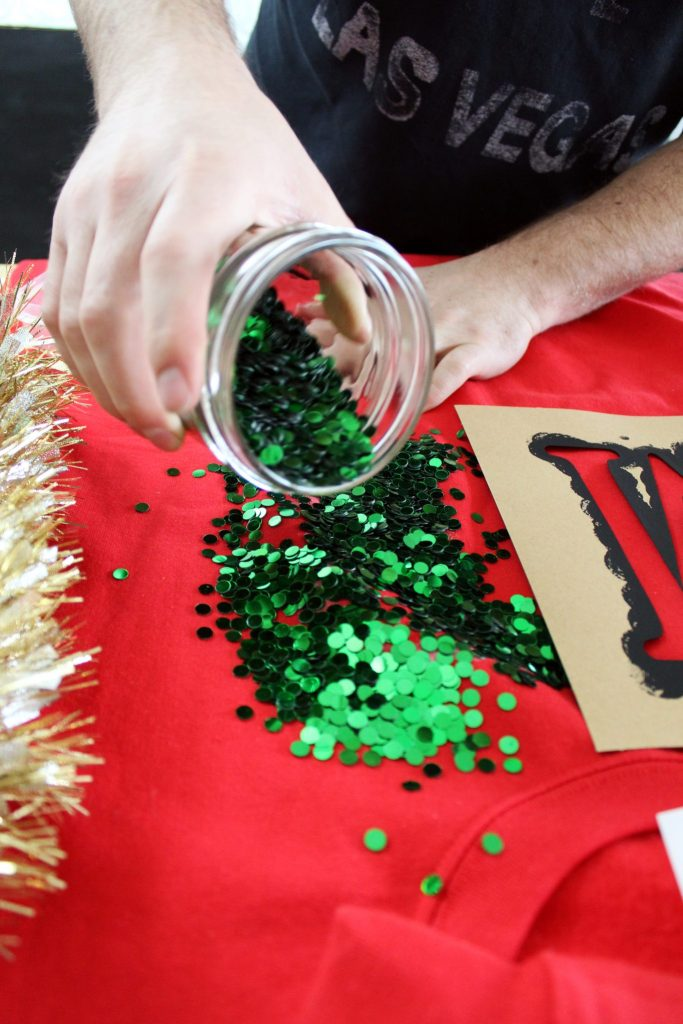How to make a fun diy ugly Christmas Sweater