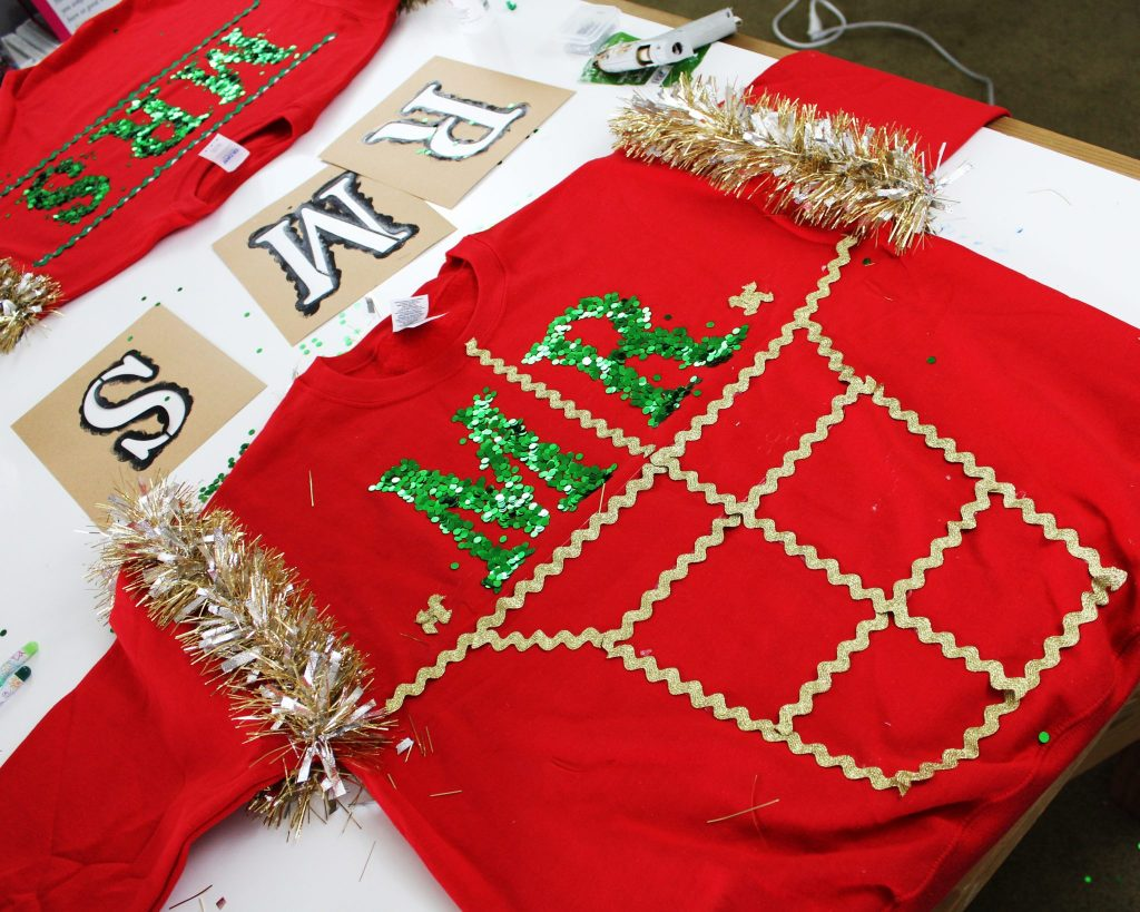 How to make your own diy ugly Christmas Sweater