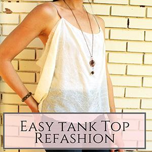 asy tank top refashion