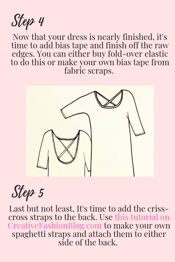 page 4 maxi dress DIY tutorial