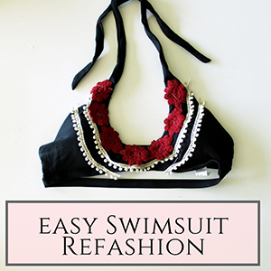 swimsuit refashion