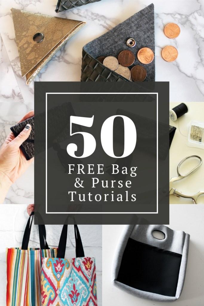 50 Bag Sewing patterns