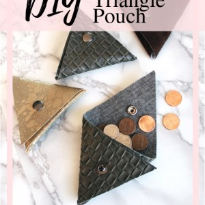 How To Make A Small Triangle Coin pocket