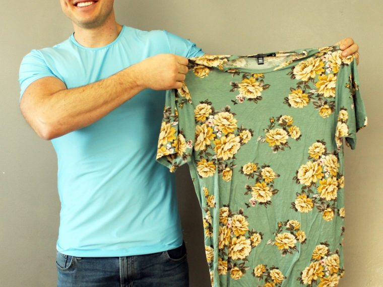 How to copy your old clothes and make your own pattern