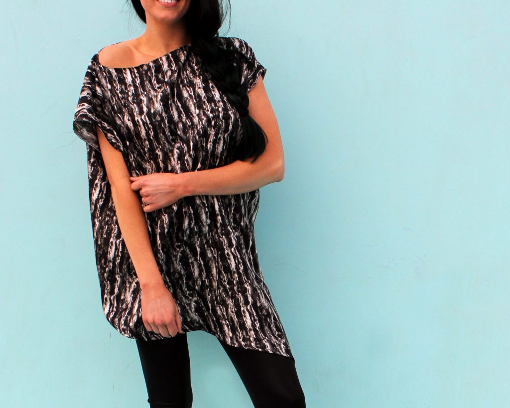 How to make a silk asymmetrical blouse.. DIY new pattern shirt easy sewing tutorial..