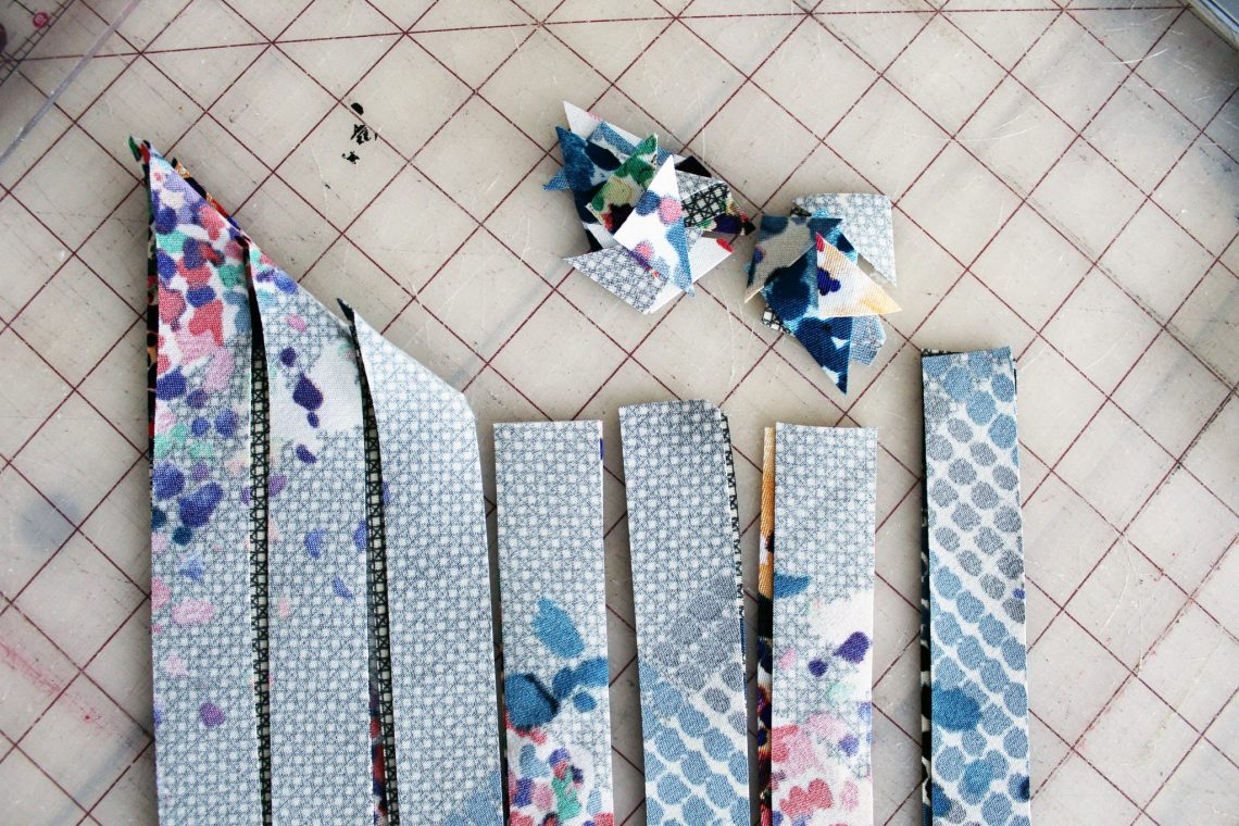 How to make your own bias tape easy tutorial