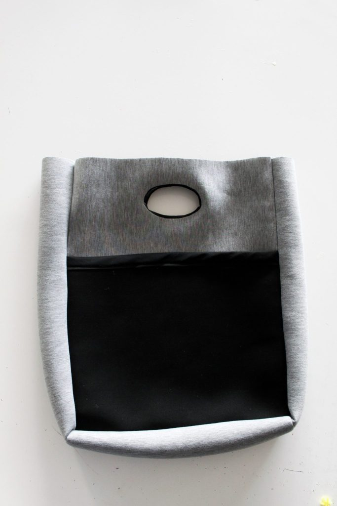 How to sew a neoprene tote bag from scratch