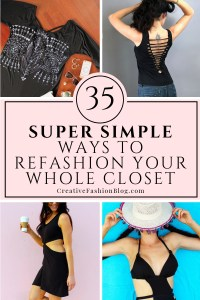 35 ways to refashion your whole closet